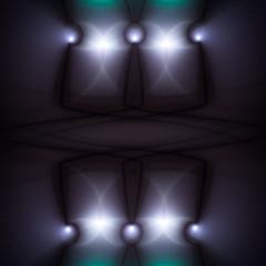 Amazigh (Luc H.) Tags: zazen grey blue green graphic graphism fractal abstract digital meditation
