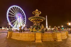 Place de la Concorde - Paris (Guibs photos) Tags: canonefs1022mmf3545usm eos7d canon manfrotto mt055xpro3 paris iledefrance france concorde placedelaconcorde obelisque granderoue place fontaine funtain ville city cityscape urban urbain night nuit nocturne filé poselongue longexposure