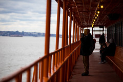 Daily life imagery shot from the Staten Island Ferry on Tuesday, March 13, 2018. Benjamin Kanter/Mayoral Photo Office. (nycmayorsoffice) Tags: nyc newyork newyorkcity richmond richmondcounty boat dailylife ferry statenisland statenislandferry unitedstates us