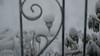 My lone solar lantern braving the storm (kuntheaprum) Tags: winterstorm skylar blizzard 15footersnow nikon d5300 tamron samyang f14