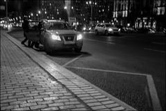 DRD160401_0879 (dmitryzhkov) Tags: russia moscow documentary street life lowlight night human monochrome reportage social public urban city photojournalism streetphotography people bw nightphotography dmitryryzhkov blackandwhite everyday candid stranger