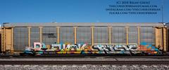 _DSC3815 (The Curse Of Brian) Tags: trains freights graffiti minneapolis minnesota revok risk