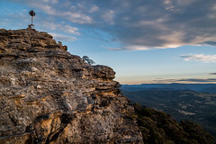 Megalong Head, Blue Mountains National Park. (Buddy Patrick) Tags: landscape view views lookout sky skies air rock rocks canyon mountain mountains mountainside cliff cliffs wilderness wild nature native aboriginal indigenous history historic heritage megalongvalley katoomba bluemountains newsouthwales australia