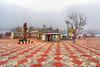 Kulanthai Velappar Temple, Poombarai, Kodaikanal (Yesmk Photography) Tags: kulanthaivelappar temple hindu kovil yesmkphotography muthukumar poombarai kodaikanal tamilnadu madurai india hillstation leadingline wideangle nikon nikond90 tokina tokina1116mm 1116mm cloudy murugan murugantemple hdr singleimagehdr