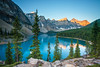 Moraine Lake.jpg (JuSlaughter) Tags: wood autumn peaks calm alberta water scree moraine pine lake fall ten light shadow trees blue national serenity tree peace forest banff mountain glacier green park rockpile canada valley