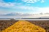 Route to the sea (Fabrizio Contu) Tags: landscape seascape sea water port seaport road route lighthouse cagliari sardegna sardinia clouds sky fujifilmxt10