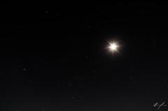 El cuadro perfecto que siempre puedo ver! (flea_14) Tags: mexico night nikon sky stars nightphoto moon universo universe