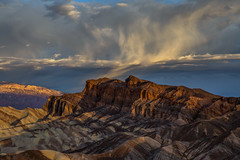 Virga Over Red Cathedral (Jeffrey Sullivan) Tags: death valley national park zabriskie point landscape nature travel photography furnace creek california usa canon eos 6d photo copyright march 2018 jeff sullivan