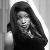 Out Of The Light (AlanW17) Tags: olympus ottawa micro43rds beautifulwoman stunning exotic nac fashion model portrait monochrome blackwhite