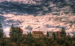 Houses on the hill (Matjaž Skrinar) Tags: 250v10f
