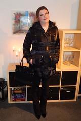 There is nothing better than a warm coat these days! (Rikky_Satin) Tags: satin coat jacket shiny crossdresser transvestite transgender tranny tgirl tgurl gurl transformation transformed m2f mtf sissy