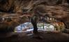 Die Säulen der Erde (jeanny mueller) Tags: luxemburg luxembourg müllerthal luxemburgischeschweiz höhle cave winter landscape moulin nature wald fels echternach eifel ice mühlstein