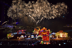 Fireworks Display (chooyutshing) Tags: fireworks display riverhongbao2018 thefloatmarinabay chinesenewyear lunarnewyear yearofthedog festival attractions marinabay singapore