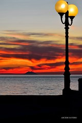 Rosso Acceso (Arcieri Saverio) Tags: stromboli iddu calabriadascoprire calabria italy red rosso rouge isole isoleeolie eolie sly sky sun tramonto vulacan vulcano mare mer blue blu luci light