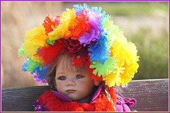 Milina ... (Kindergartenkinder) Tags: kindergartenkinder annette himstedt dolls gruga grugapark essen milina