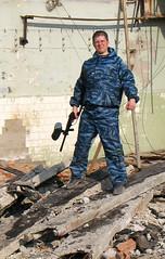 Me & paintball (Nikolai Morozov) Tags: paintball portrait gun marker form military