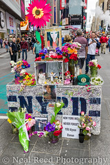 Memorial To Alyssa Elsman - Killed By Crazed Driver (corneliusreed) Tags: flickr memorialtothosekilledbycar timessquarearea newyork unitedstates us