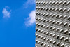 Bangkok, Thailand (gstads) Tags: bangkok thailand thai architecture building highrise apartments block apartment balcony balconies line lines curve curves geometry geometric repetition cloud clouds blue pattern patterns texture sky