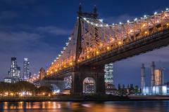 Queensboro Bridge (DJB Photo NYC) Tags: queensborobridge nycsights newyorkcity rooseveltisland nightphotography cityview