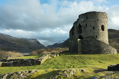 'Dolbadarn Castle' - Llanberis, Snowdonia (thomasgreen92) Tags: dolbadarn castle llanberis snowdonia landscape sunlight evening outdoor sunset mountains national park eryri cymru wales medieval tower views pass nant peris cloud rock formation architecture serene mountain ruins field hill photography light sony sonya7ii sonya7 1635 beauty clouds mood manfrotto