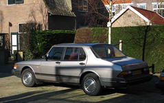1988 Saab 900i sedan 1.9 (rvandermaar) Tags: 1988 saab 900i sedan 19 saab900 saab900i sidecode4 st72hy rvdm