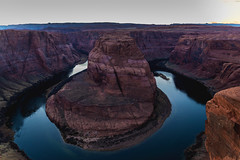 Horseshoe Bend (CROMEO) Tags: horseshoe bend canyon arizona united states america turismo turism turistico place picture photo photography point landscape paisaje cromeo cr river colorado rio color usa eeuu estados unidos travel trip around nikon fullframe capture sunset