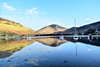 Lochranza (Harry McGregor) Tags: lochranza isleofarran ayrshire scotland loch lake water boats hills bluesky sky landscape scenic scenery grass mountain reflections