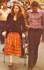 1970s Platform Amputee (jackcast2015) Tags: handicapped disabledwoman crippledwoman crutches amputee sakamputee sakamputation sak