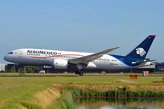 Aeromexico N964AM Boeing 787-8 Dream)liner cn/35307-122 @ Kaagbaan EHAM / AMS 09-06-2016 (Nabil Molinari Photography) Tags: aeromexico n964am boeing 7878 dreamliner cn35307122 kaagbaan eham ams 09062016