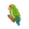 Rare Beaded Blue Winged Amazon Parrot Pin (The Lone Beader) Tags: beads beadwork beading beadembroidery beadedanimal bird birds jewelry beadedbird thelonebeader etsy handmade mexico yucatan tropical seedbeads