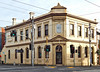 Old Bank (VICTORIA) (IDH Mackinnon) Tags: collingwood bank building 1880 built constructed erected old historic architecture architectural victoria victorian era age georgian melbourne australia australian yellow corner 2016 colonial