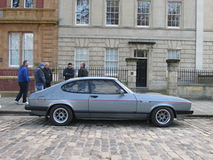 Ford Capri 2.8 Injection Special B204YUH (Andrew 2.8i) Tags: queen queens square bristol breakfast club show meet car cars classic classics mark 3 mk mk3 coupe hatch hot hatchback v6 cologne sports sportscar special injection 28 capri ford road