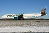 N714FR FRONTIER A321-211SL in KCLE (GeorgeM757) Tags: n714fr frontier a321211sl aircraft alltypesoftransport aviation airport airbus georgem757 kcle clevelandhopkins canon70d