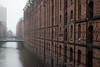 Hamburg im Nebel (michael_hamburg69) Tags: hamburg germany deutschland hansestadt speicherstadt warehousedistrict timberpilefoundedwarehousedistrict fleet nebel fog mist
