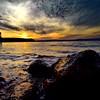 Clouds black (ioriogiovanni10) Tags: goodnight buonaserata aperitivo relax magic nature natura acqua lago lake hero5 gopro nuvole cielo clouds sun tramonto sunset