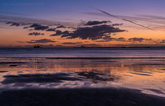 Cooltide (ianrwmccracken) Tags: horizon northberwick tide d750 landscape kirkcaldy peaceful fife water nikon scotland ianmccracken shore hill nikkor2470mmf28 sea dawn sands pathhead beach silhouette solitude pink cloud morning wave sky seascape blue ship law reflection
