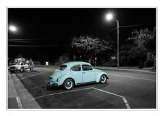 Classic Beetle in Clovis (49er Badger) Tags: vw beetle clovis