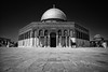 Dome of the Rock (michael.mu) Tags: leica m240 superelmarm21mmf34asph 21mm jerusalem israel domeoftherock templemount monochrome bw blackandwhite silverefexpro mosque architecture islamicarchitecture
