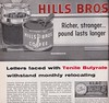 Hills Bros Billboard - Pacific Outdoor Advertising - Letters by Electrical Products Corp. Los Angeles, circa 1958 (hmdavid) Tags: vintage ad advertisement signsofthetimes magazine tenite butyrate hillsbros billboard electricalproductscorp epco december 1958 coffee pacificoutdooradvertising