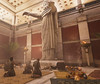 Worshipers making offerings to Serapis at the Serapeum in ancient Alexandria in Assassin's Creed Origins Discovery Tour (mharrsch) Tags: ancient alexandria serapeum serapis egypt ptolemaicperiod assassinscreed discoverytour mharrsch temple worship library sculpture