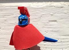 Lego Trojan Guard (Sebastian Wesley) Tags: lego minifigs cape trojan roman guard