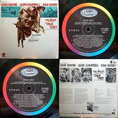 True Grit - Elmer Bernstein (Wil Hata) Tags: elmerbernstein record vinyl album