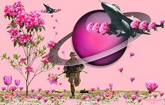 Planting Peace - By SilviAne Moon. (Silviane Moon) Tags: arte digitalart digitalcollage digitalpainting futuristic nowar photomanipulation planetas planets planetspace planting space surreal surrealart surrealism surrealismo surrealistic universe universo peacepeace surrealfantasy art silvianemoon silvianemoonart