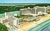 Fontainebleau, Miami Beach, Florida (Thomas Hawk) Tags: america florida fontainebleau hotel miami miamibeach usa unitedstates unitedstatesofamerica vintage beach pool postcard swimingpool fav10