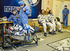 Expedition 55 Preflight (NHQ201803210033) (NASA HQ PHOTO) Tags: expedition55preflight baikonur drewfeustel kazakhstan expedition55 baikonurcosmodrome russiansokolsuit kaz roscosmos nasa gctc irinapeshkova