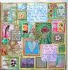 week 11 (artygirl2010) Tags: art artjournal acrylics artjournaling acrylic abstract mixedmedia painting paper