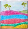 week 9 (artygirl2010) Tags: art artjournal acrylics artjournaling acrylic abstract mixedmedia painting paper