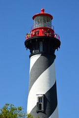 #85/118 - Candy striped - 118 Pictures in 2018 (Krasivaya Liza) Tags: staugustine saint augustine florida fl southern lighthouse light house park beacon striped candystriped 85 85118 118picturesin2018 aviles avenue spanish architecture lakecity lake city atlantic ocean seaside town village bird birds flower flowers shell shells buildings church