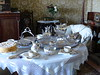 Afternoon Tea (Marit Buelens) Tags: lanhydrock tea afternoontea cornwall england uk mansion victorian countryhouse upperclasses porcelain bonechina silverware interior nationaltrust fz200 silver white tablecloth