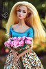 Melody (astramaore) Tags: fair poppy parker poppyparker astramaore blonde flowers skirt blueeyes summer beauty chic glam style glow blue dollphotography dolls fashion blossom flowering